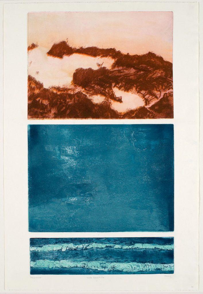 Die Welle, wie auch ein Fels, entsteht und vergeht